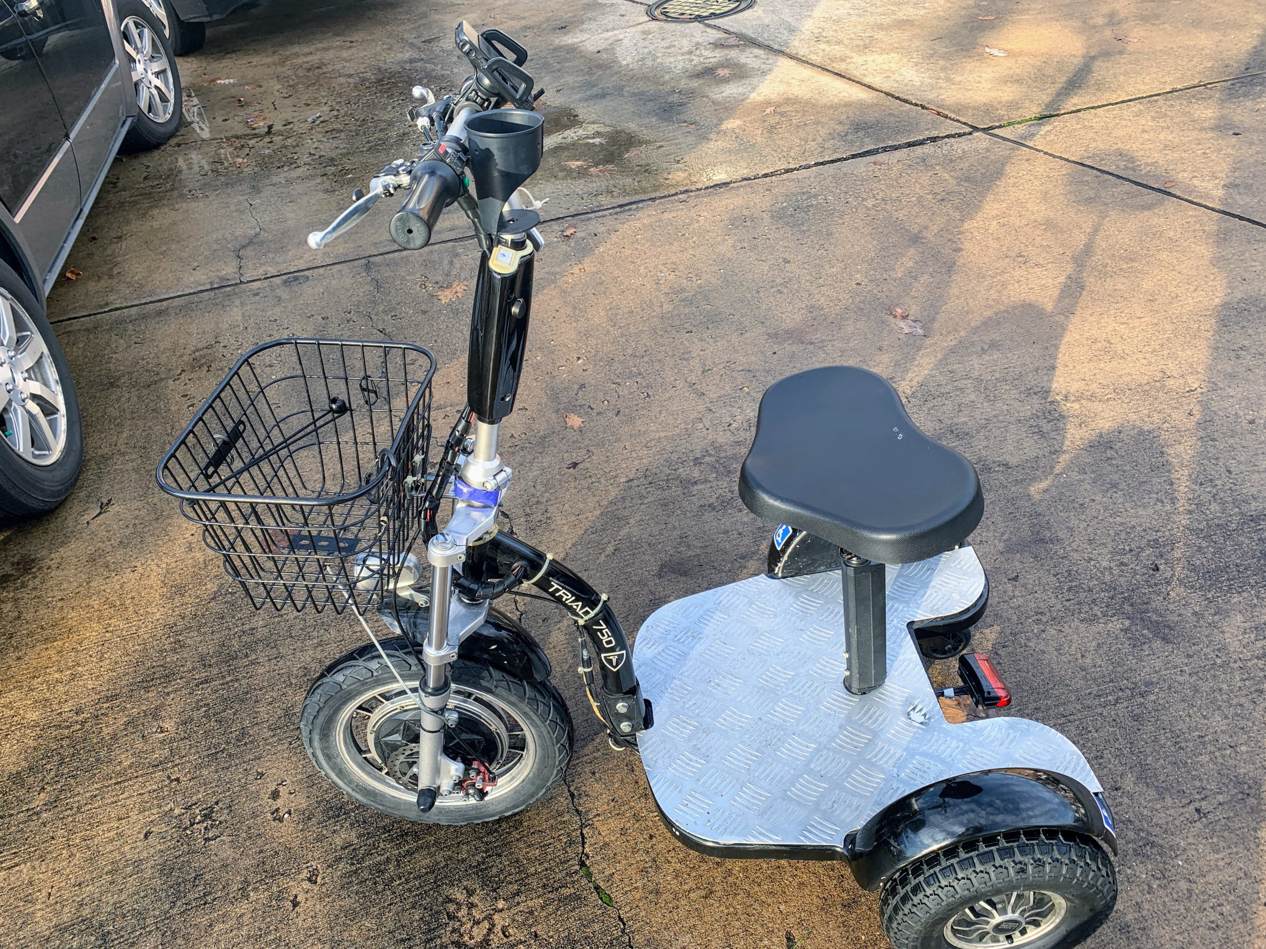 My first scooter Triad 750 CSX