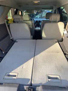 Taurus X Cargo area with third row seats folded