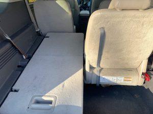 One seat folded in Taurus X