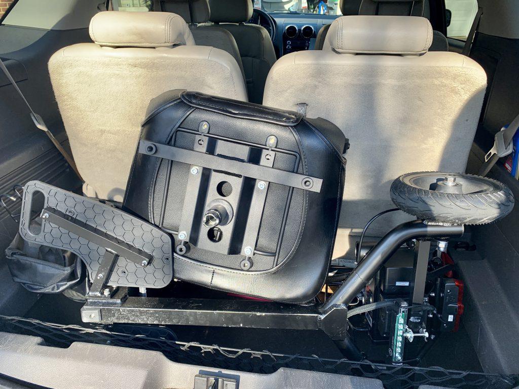 Glion SnapNGo in trunk