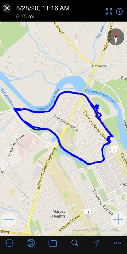 Canal Path Scooter Ride Fredericksburg VA